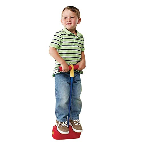 Kidoozie Foam Pogo Jumper - Fun and Safe Play - Encourages an Active Lifestyle - Makes Squeaky Sounds, 250 Pound Capacity