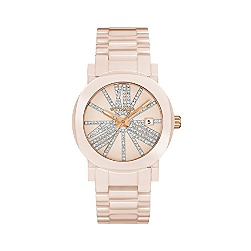 Wittnauer Blush Ceramic Crystal Watch (Womens Wittnauer Ceramic Watch)