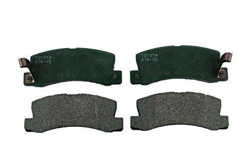 Toyota Genuine Parts 04466-32050 Rear Brake Pad Set by Toyota