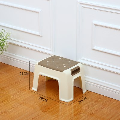 Stool Dana Carrie Plastic home dining table that has a non-slip plastic adult high benches children plastic on a low a 2PCS, card the,292021CM (Dining Dana)