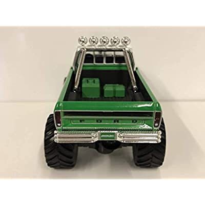 Greenlight 86161 1: 43 1974 Ford F-250 Monster Truck - #19 Racing Team: Toys & Games