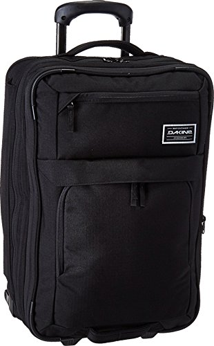 Dakine Status Roller 45L +,Black,One (Split Roller Travel Bag)