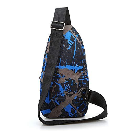 Multifonction Plein Main Hommes Épaule Pour De À Mode Sports Sacs Air Sac Bandoulière bleu Rxv8w7q0