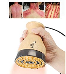 Moxibustion Massager, Far Infrared Thermal Stone Needle Scraping Moxibustion Warm Physical Therapy Massager