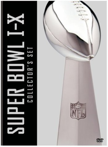NFL Films: Super Bowl Collections - Super Bowl I-X [DVD] [Region 1] [US Import] [NTSC]
