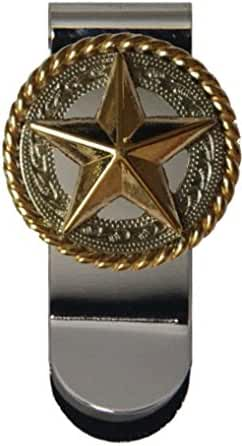Fancy Gold Star Money Clip