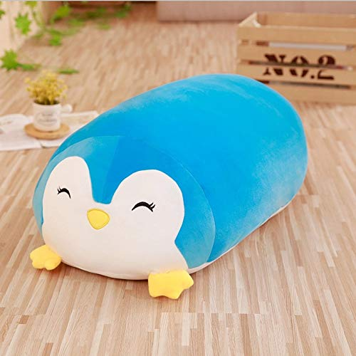 UBILILI Stuffed Animal - Fat Dog Cat Penguin Pig Frog Plush Toy Stuffed Animal Soft Cartoon Pillow Lovely Kids Toy - 24 Inch Penguin - Net Farts Big Golden German Much Jellycat Pb Tiny