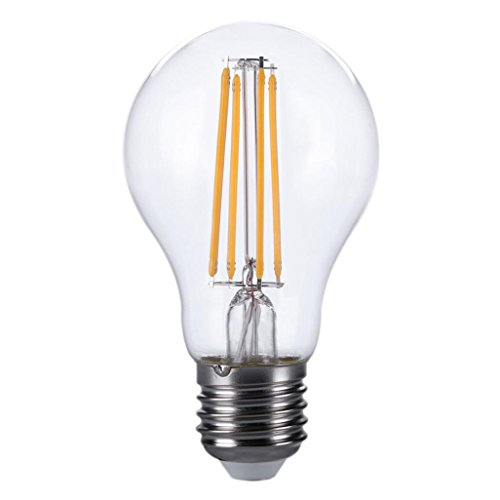 Liping LED Lamp E26 120V Energy Saving LED Bulb Actual Power 6.5W Warm Lamp Lampada Lamp Light Lamp (2PCS)