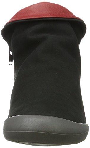 Softinos Farah Nubuck, Stivali Donna Nero (Nero)