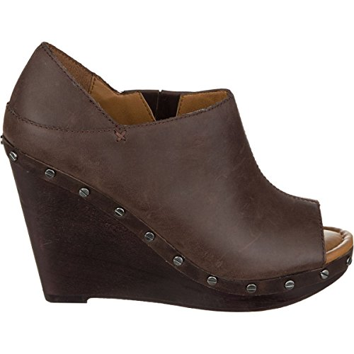 Dr Wedge Oxford 7 Scholls Brown Womens Shoe Leather 0 Sofia r4wxrPvnCq