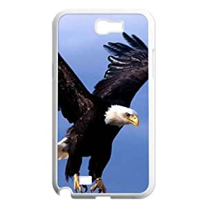 Bald Eagle Unique Design Cover Case for Samsung Galaxy Note 2 N7100,custom case cover ygtg578360 WANGJING JINDA