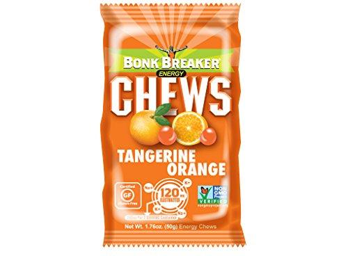 - Bonk Breaker Nutrition Energy Chews, Tangerine Orange, 1.76 Oz (10 Count), Gluten Free & Dairy Free