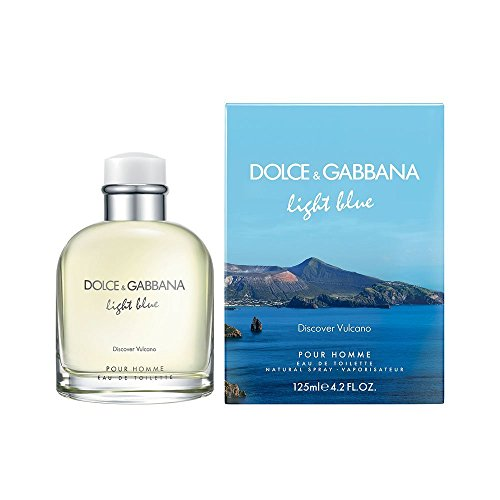 Dolcé & Gábbaná Light BIué Discovér VuIcáno Pour Hommé Eau de Toilette For Men 4.2oz / - Gabana And Dolce Men