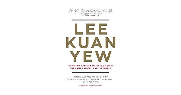 Amazon.com: Lee Kuan Yew: The Grand Masters Insights on ...