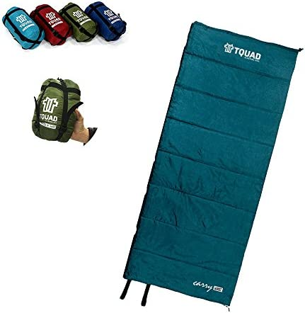 Lightweight Sleeping Bag for Backpacking, Camping, Hiking, Travel in Compact Compressable Sack for Kids Men Women