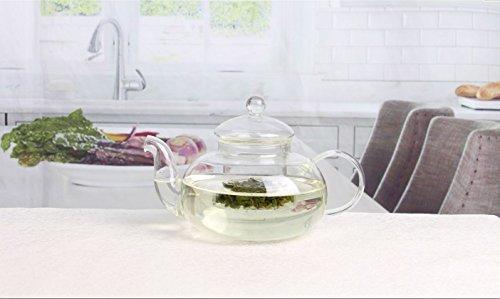 Beautiful Glass Teapot with - Glasses Beautiful