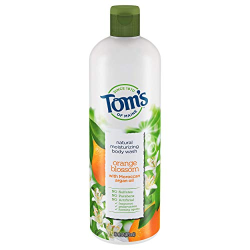 Orange Blossom Gel Shower Gel - Tom's Of Maine Moisturizing Body Wash, Orange Blossom, 16 Ounce