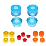 MagiDeal 16pcs Durable PU Skateboard Truck Bushings Set 90A Longboard Scooter Cruiser Truck Rebuilding Kit