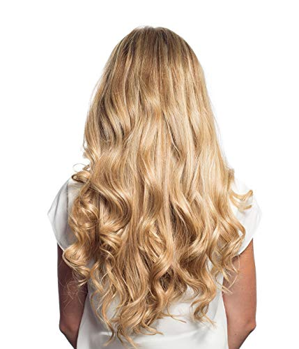 - Maxy #18 Dirty Blonde Clip In 100% Human Hair Extensions 20