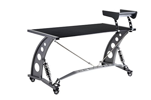 Pitstop PDF2000CF Furniture Carbon Fiber GT Spoiler Desk ()