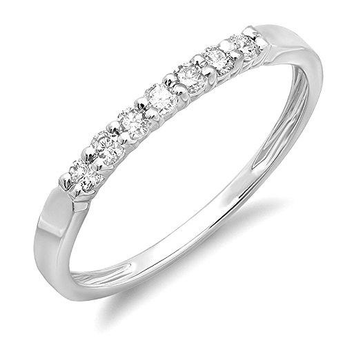 0.22 Ct Diamond Band - 6