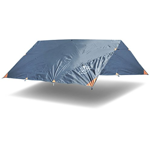 Archer Outdoor Gear All-Weather Sturdy, Waterproof, Rain & Fly Camping Tarp by Archer Outdoor Gear