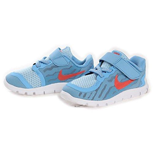 Nike Free 5 (TDV) Baby- Girls Sneaker (9 Toddler M, Lakeside/Blue Lagoon/Pure Platinum/Bright Crimson')