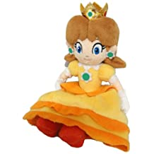 Super Mario Bros Princess Daisy 8 Inch Anime Stuffed Plush Kids Toys