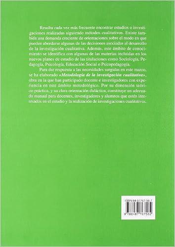metodologia de la investigacion cualitativa gregorio rodriguez gomez