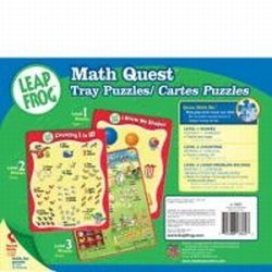 Leapfrog Counting Quest (Pack of 3 Tray Puzzles)