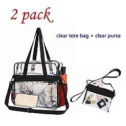 GreenPine Clear Bag, Clear Tote Bag Stad...