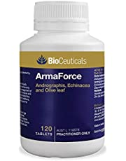 BioCeuticals ArmaForce Immune Support Olive Leaf 120 Tablets Vegan