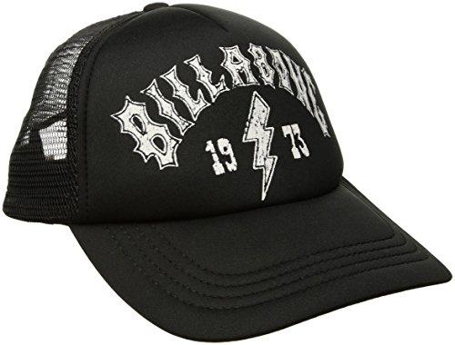 (Billabong Women's Across Waves Trucker Hat, Off Black, One Size)