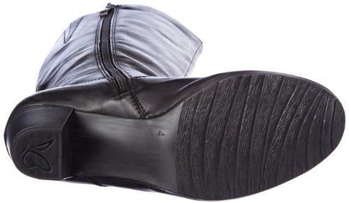 Caprice Marika-B-1-2 9-9-25518-21 362 - Botas clásicas de cuero mujer negro - Schwarz (BLACK ANTIC)