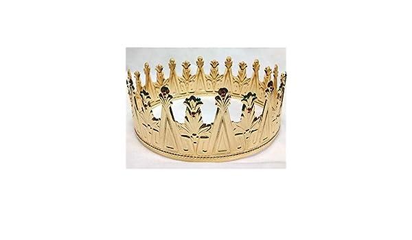 Disbacanal Corona De Rey Medieval Adornos De Navidad