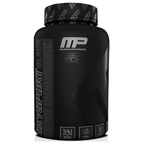 Muscle Pharm Black Label OxySport Capsules, 120 Count