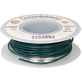 Jameco Valuepro 9313-2-R Wire Hook-up Solid 22 AWG Red 100 Feet