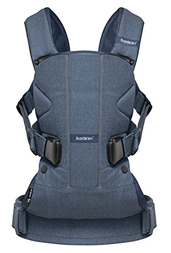 BABYBJORN Baby Carrier One   Classic DenimMidnight Blue Cotton