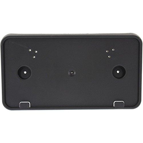 - New for 2011-2014 Ford Edge Front Bumper License Plate Bracket Holder Plastic Black FO1068133 BT4Z17A385C
