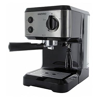 Daewoo DES-1545 220V Espresso/Cappuccino Maker, Black