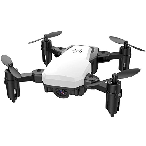 - Iusun SG800 Mini Foldable RC Quadcopter, 2.4GHz Remote Control Helicopter Drone Altitude Hold (White)