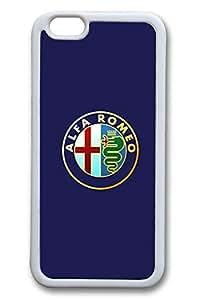 6 Case, iPhone 6 Case Alfa Romeo Logo TPU Silicone Gel Back Cover Skin Soft Bumper Case Cover for Apple iPhone 6