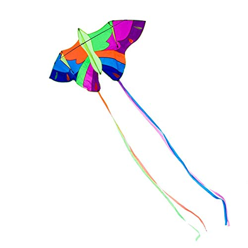B&MF Park Kites, Colorful Long Tail Large Outdoor Travel Kites Child Kites Portable Flying Toy, 200 360CM