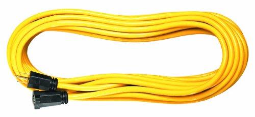 Voltec 05-00110 16/3 SJTW Outdoor Extension Cord, 100-Foot, Yellow