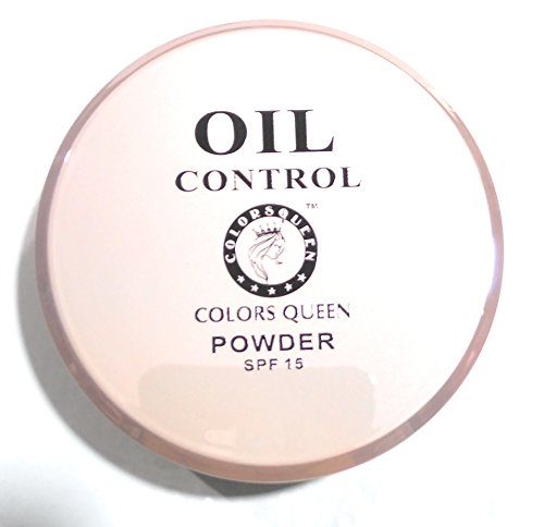 Colors Queen 2 IN 1 Oil Control SPF 15 Compact Powder