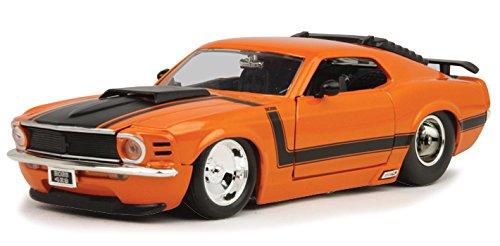 1970 Ford Mustang Boss 429 Orange 1/24 by Jada 98030 -  Jada Toys