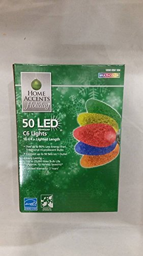 Home Accents Holiday Led Lights C9