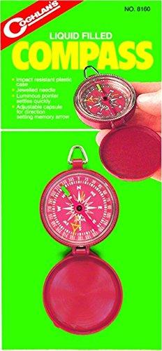 Coghlans 8160 Liquid Filled Pocket Compass Coghlans Pocket Compass