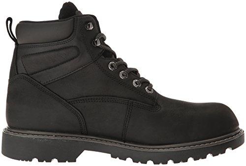 Boot Waterproof Toe Wolverine Floorhand Soft 6 Mens Work Black E0xE1OqgwS