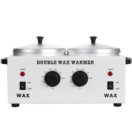 GC Global Direct Waxing Heater Double Pot Wax Warmer from GC Global Direct